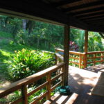 Ridge House, West End, Roatan - Back Porch