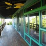 Ridge House, West End, Roatan Front Porch